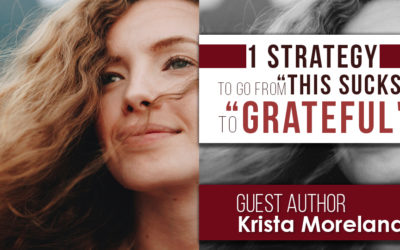 "One Strategy To Go From ""This SUCKS"" to ""Grateful"""
